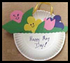 Paper   Plate May Baskets  : Instructions for Making Cool Stuff Out of Recycled Paper Plates