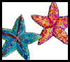 Paper Plate Starfish Craft