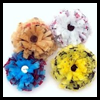 Plastic   Bag Hair Rosettes  : Crafts with Plastic Bags