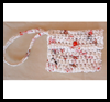 Crocheted   Plastic Wristlet Bags  : Plastic Bag Crafts for Kids