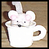 Mouse   in a Cup Crafts  : Plastic Cup Crafts for Kids