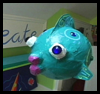 Papier-Mache   Fish   : Crafts with Plastic Cups Ideas for Children