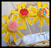 Plastic   Cup Flowers   : Crafts with Plastic Cups Ideas for Children