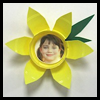 Daffadill   Photo Magnets  : Plastic Cup Crafts for Kids