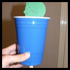 Naaman   in the Jordan Rivers   : Crafts with Plastic Cups Ideas for Children