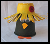 Plastic   Cup Crows   : Crafts with Plastic Cups Ideas for Children