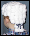 Presidential    Powdered Wig