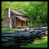 How    to Make Abraham Lincoln's Log Cabin