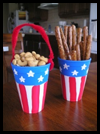Patriotic    Treat Cup