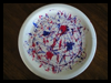 Paper    Plate Fireworks