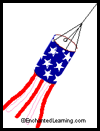 Patriotic    Wind Sock Craft