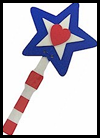 Patriotic    Star Clacker