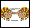 Free Printable Thanksgiving Turkey Cards for Kids