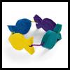 Sponge Crown Craft for Children