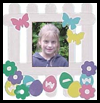 Spring   Picket Fence Photo Frame