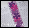 Easy   Flower Power Bookmark