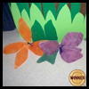 Recycled   Rain Forest Flowers  : Stocking Crafts for Kids