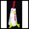 Really   Funny Roosters  : Crafts Activities with Styrofoam Cups Ideas for Children