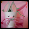 Bunny   Cups   : Styrofoam Cup Crafts for Kids