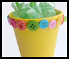 Sunshine   Flower Pots  : Crafts Activities with Styrofoam Cups Ideas for Children