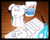 Styrofoam   Cup Dog Craft for Dog's Colorful Day