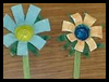 Styrofoam   Cup Flowers Crafts  : Crafts Activities with Styrofoam Cups Ideas for Children