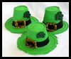 Styrofoam   Cup Leprechaun Hats  : Crafts Activities with Styrofoam Cups Ideas for Children