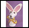 Styrofoam   Cup Easter Bunny Crafts  : Crafts Activities with Styrofoam Cups Ideas for Children