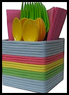 <strong>Recycled</strong> <strong>Utensil   Holder</strong>