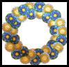 Paper   Plate Summer Wreath
