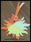 Decoupage   Sun Bookmark Craft