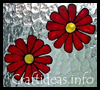Window   Clings - Flowers