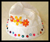 Children's   Sun Hat Craft for Girls to Make for Summer