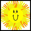 Sunshine   Handprint Craft