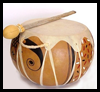 Make   a Basic Gourd Drum