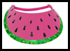 Watermelon   Slice Visor