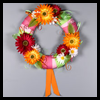 Bright   Gerbera Wreath