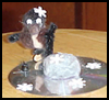Ice Skater CD Craft