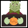 Frankenstein   Box for Halloween  : Tissue Box Crafts for Kids