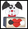 Dog   Box for Valentine's Cards  : Tissue Box Crafts for Kids