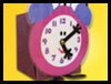 <strong>Tickety   Tock Tissue Box Clocks  : Make Crafts with Tissue Boxes for Children -  </strong>
