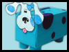 Blue   Tissue Box Piggy Banks  : Tissue Box Crafts for Kids