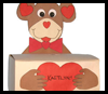 Monkey   Box for Valentine's Cards  : Make Crafts with Tissue Boxes for Children