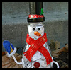 Waste Not Snowman Film Canister Craft for Kids