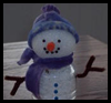 Bottle   Belly Snowman  : Water Bottle Crafts