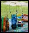 Fiesta   Lanterns  : Water Bottle Crafts