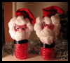 Water   Bottle Santa Crafts  : Make Cool Stuff with Recycled Water Bottles