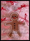 Cork   Gingerbread Decoration