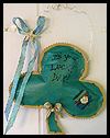 Shamrock   Wall Hanging