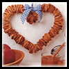 Scented   Apple Wreath